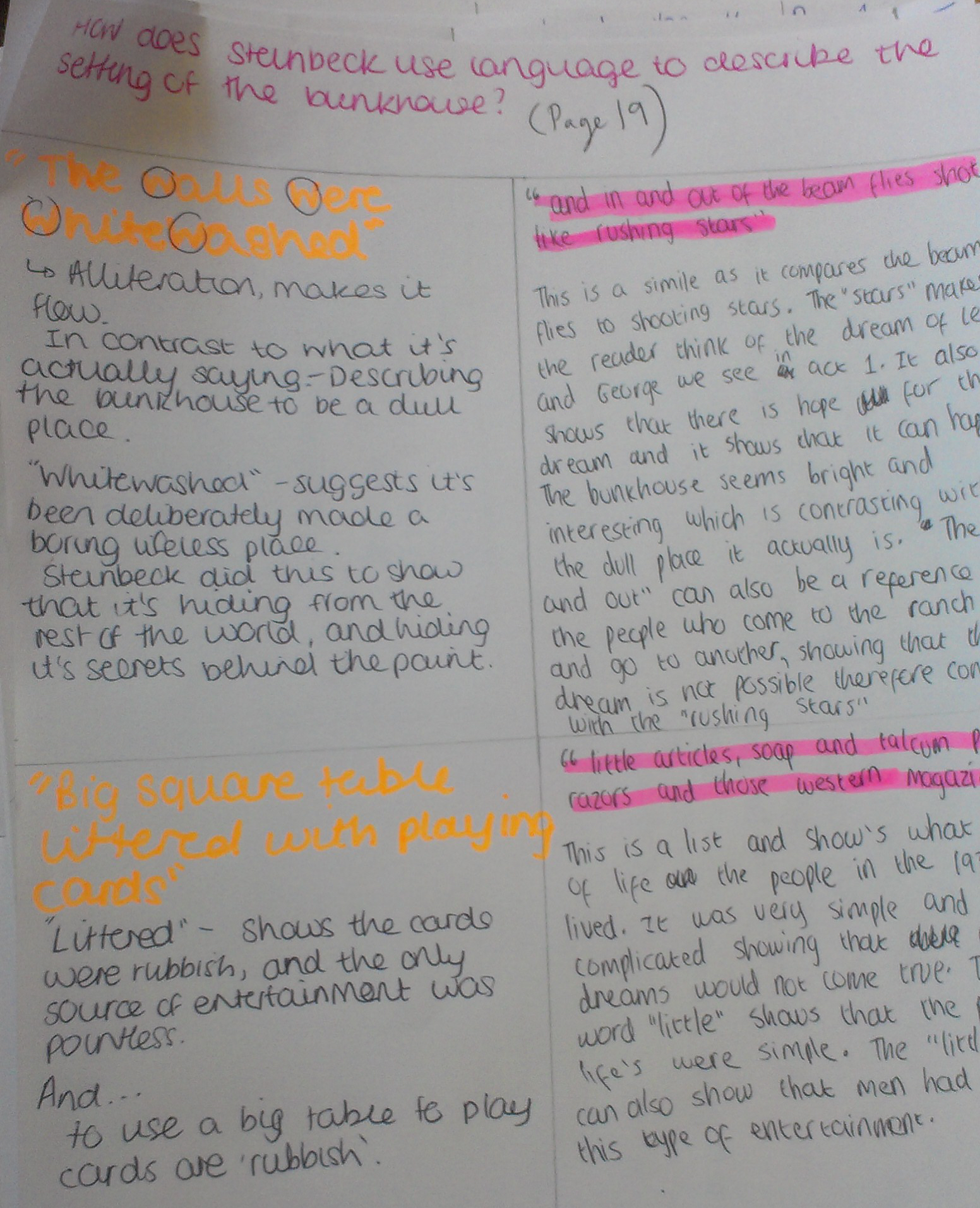 of mice and men gcse coursework english