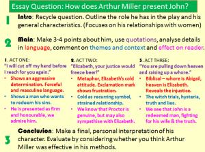 the chosen essay questions