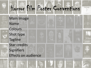 Poster conventions