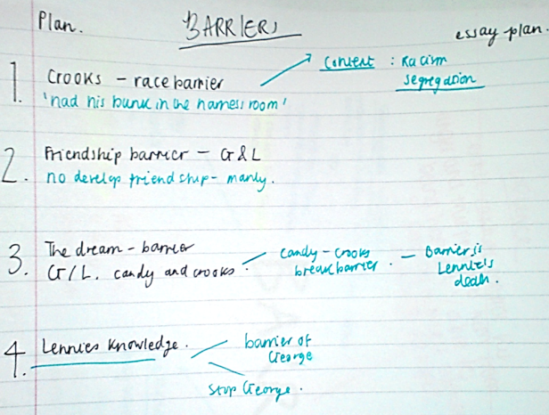 barriers plan