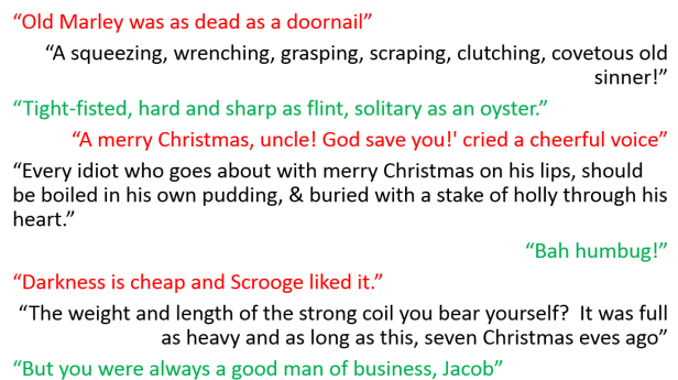 scrooge feels scared but jacob disappears out of the window where scrooge sees hundreds of ghosts in the sky quote 1