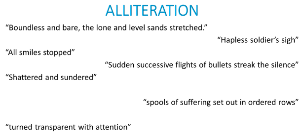 Alliteration quotations