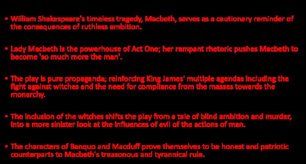 Macbeth mega sentences