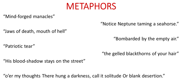 metaphor quotations