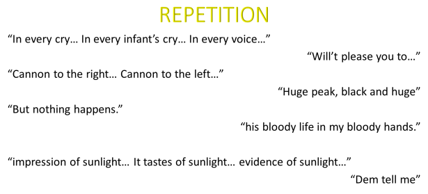 repetition quotations